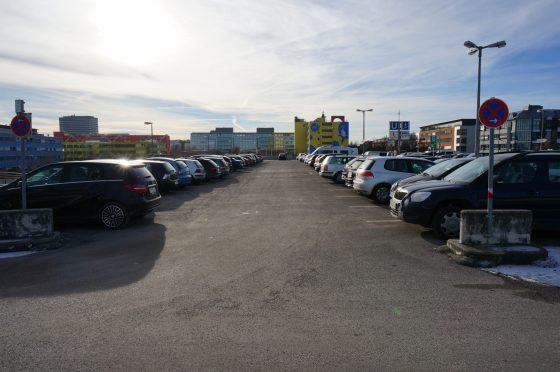 Parkplatz München